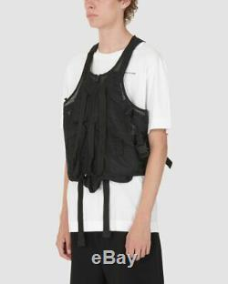 1017 Alyx SM Mesh Tactical Vest Black One Size Fits All Modern Body Gilet