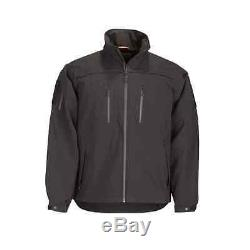 5.11 TACTICAL Sabre 2.0 Microfiber Jacket, Black, 2X-Large, 48112