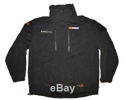 5.11 Tactical NASCAR OFFICIAL 3 in 1 Parka Rain Jacket Mens XL Black Exceptional