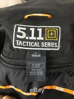 5.11 Tactical Signature Duty Jacket Men's Large, Black, New with Tags