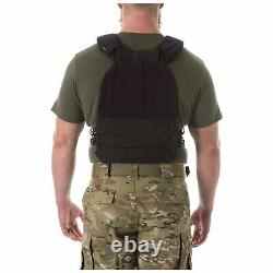 5.11 Tactical TacTec Plate Carrier Vest Black 56100 FREE SHIPPING