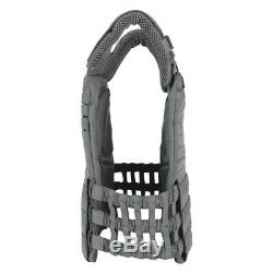 5.11 Tactical Tactec Plate 10x12 Inch Armor Carrier and Cross Fit Vest BLACK