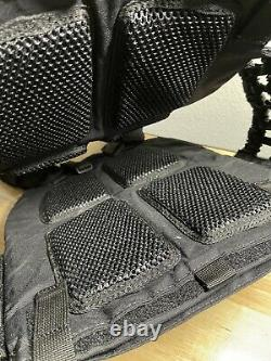 5.11 Tactical Tactec Plate 10x12 Inch Armor Carrier and Cross Fit Vest Storm