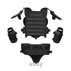 ActionUnion Airsoft Tactical Armor Set Military Tactical Vest Molle Gilet Pai