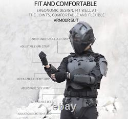 ActionUnion Protective Tactical Gear Vest, Gauntlets, Groin Protector & Belt