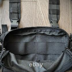 BLACK with insert for 3308 or 3223 Micro Tactical Chest Rig vest D3CRM