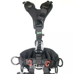CAMP ACCESS ANSI Fullbody Rope Access Harness Black Small Large