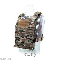 COMBAT2000 XPC Military Tactical Vest Wargame Paintball Airsoft SWAT Lightweight