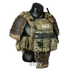 Chinese Style Industrial Tactics Shoulder Armor Bag Armor Without Vest Arm Guard
