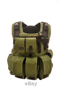 Combat Plate Carrier with Removable Backpack