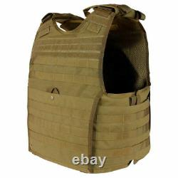 Condor Tactical Vest EXO Plate Carrier Gen II MOLLE Chest Rig Military Black