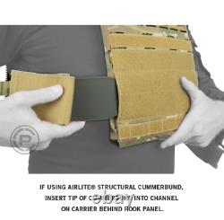 Crye Precision AirLite SPC Structural Plate Carrier Black XL Extra Large