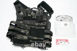 Crye Precision JPC 2.0 MCBG Size Large Multicam Black Gang with extras