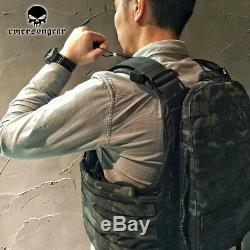 Emerson CPC Tactical Combat Vest Molle Army Plate Modular Heavy Duty Body Armor