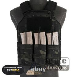 Emerson LBX-4020 420 MOLLE Tactical Plate Carrier Vest With Magazine Pouch MCBK