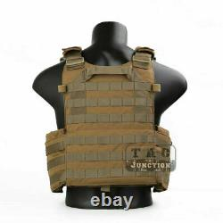 Emerson MOLLE Plate Carrier Tactical Vest Quick Release with Magazine Pouches