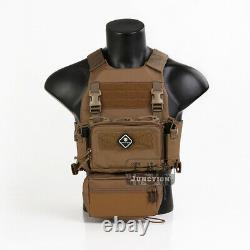 Emerson Tactical FCS Slicker Plate Carrier & Sack Pouch & Micro Fight Chassis