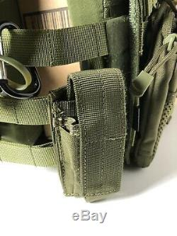 Emerson Tactical Molle Jumpable Plate Carrier JPC Vest Body Armor +Plate Airsoft