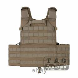 Emerson Tactical Waterproof LBT 6094K Plate Carrier Body Armor Vest with Pouches