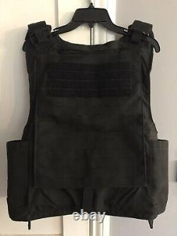 FirstSpear Siege R 6/12 Tubes XL X Large black armor carrier tactical vest plate