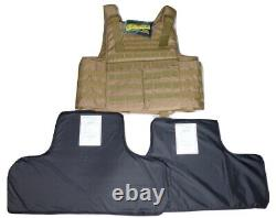 For Voodoo Tactical 20-9099 Vest Carrier IIIA 3A Soft Body Armor Plate Inserts