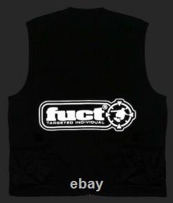 Fuct USA Ripstop Tactical Vest 3M Reflective MOLLE Jacket FTP Supreme SSDD