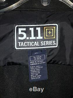 GREAT CONDITION 5.11 Tactical 3-in-1 Black Parka Jacket Men's Size XL #48001