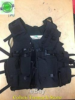Hagor Officer Swat Military Tactical Vest Hunting Combat Harness IDF BLACK
