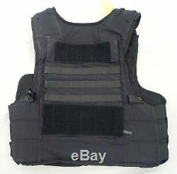 Hawk Stab & Ballistic Tactical Molle Body Armour Stab Vest HG2 KR1 M/T OA225 B
