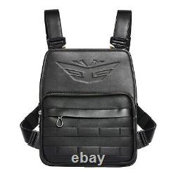 Incrimental BLACK UTILITY CHEST RIG Bags Tactical Harness Chest Vest Travel