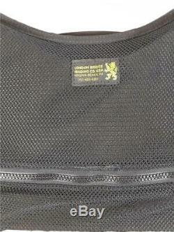 London Bridge LBT-1620G-R Vest RIGHT HAND Life Jacket PFD Adult Size With Holster
