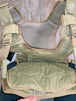 Mission Critical Tactical FRONT BABY CARRIER BLACK Military Army Coyote Vest 017