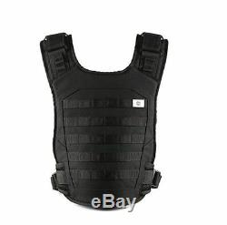 Mission Critical Tactical FRONT BABY CARRIER BLACK Military Army Navy Vest 017