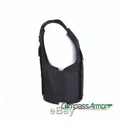 Molle Tactical Ballistic Vest made with Kevlar NIJ 3A Bulletproof Military Style