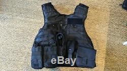 Molle Tactical Black Hawk Body Armour Stab Vest Bullet Proof Grade A w Pouches