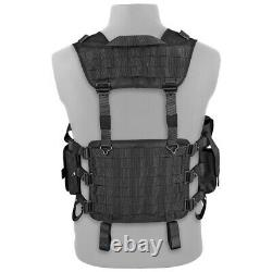NWT Military Tactical Hunting Special Force Police PALS Vest Tarzan M24 Splav
