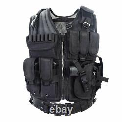 New Tactical Vest Outdoor Ultra-Light Breathable Combat Training FREE SHIPPING
