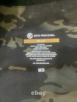 New With Tag Multicam black MCB Crye Precision JPC 2.0 Plate Carrier MEDIUM