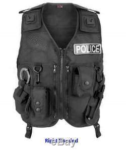 Niton Tactical Police Patrol Vest Police/Military/Cadet/Security/Prison