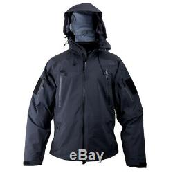 PLATATAC OSSA Tactical Military Outer Layer Jacket Waterproof Black