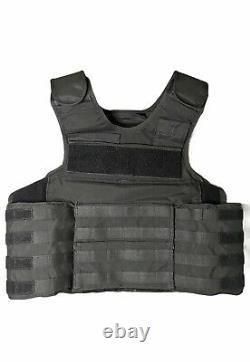 POINT BLANK MOLLE OUTER CARRIER ARMOR CARRIER BLACK NO PLATES Size 48 L3 48 L2