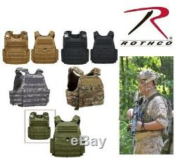 Plate Carrier For Armor Plates Black Multicam / OCP Coyote Green Acu Rothco 8922