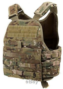 Plate Carrier Tactical Vest Molle Modular Multicam Camo Army Rothco 8928
