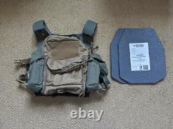 Plate carrier with plates Mordor tactical (Russian) vest and pouches L3+ ISC
