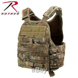 Rothco MultiCam MOLLE Plate Carrier Tactical Vest