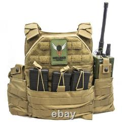 SHELLBACK TACTICAL SF PLATE CARRIER VEST With HEAVY HANGER FREE US SHIPPING