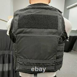 Second Chance Xtreme HP NIJ Level II Tactical Body Armor Vest, Black DOM 6/2011