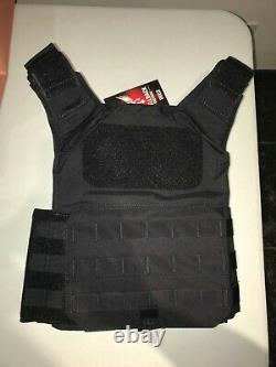 Shellback Tactical Shield Plate Carrier Tactical Vest Black New