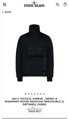 Stone Island Shadow Project Tactical Anorak Jersey R BNWT