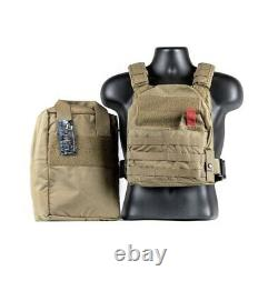 T3 Active Shooter Plate Carrier Gen 2 WithCarry Bag, Black